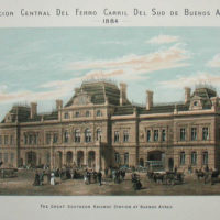 The Great Southern Railway Station at Buenos Aires