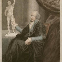 Portrait of Busick Harwood, British Anatomist