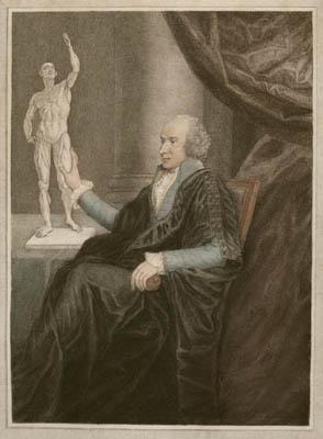 Portrait of Busick Harwood, British Anatomist