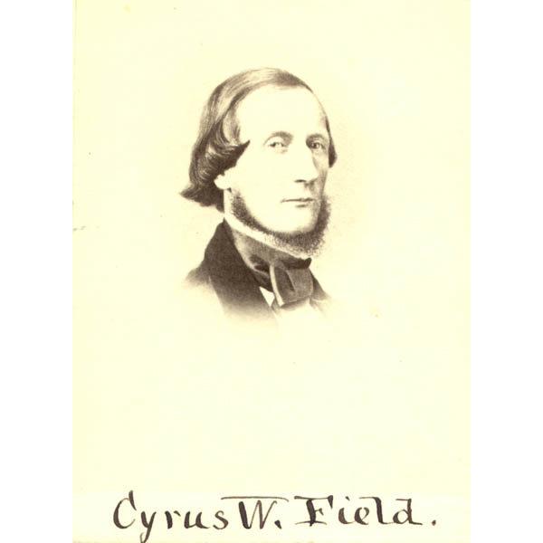 Cyrus Field portrait