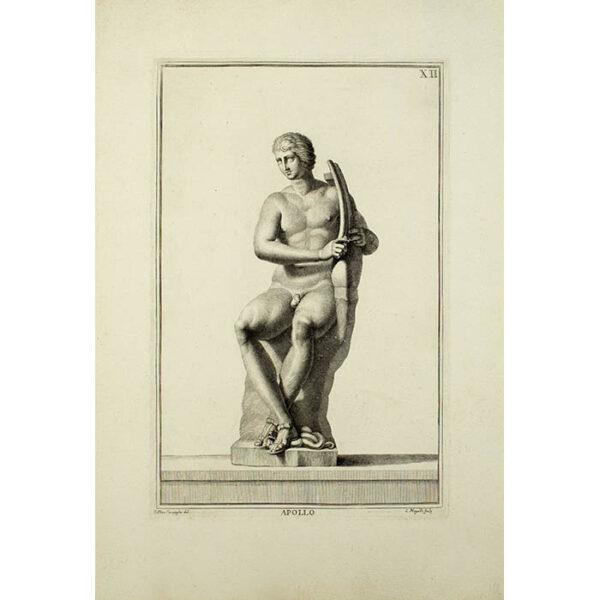 Apollo, Plate 12, from Museum Florentinum