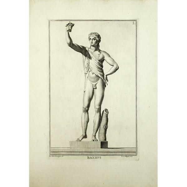 Bacchus, Plate 1, from Museum Florentinum