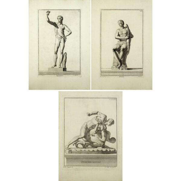 Classical Statues from Museum Florentinum