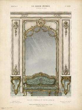 Canapé, Consoles et Décor Louis XV [Louis XV Sofa, Shelves and Decor] Sold