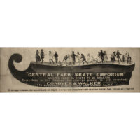 Conover & Walker Central Park Skate Emporium advertisement