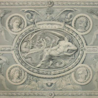 Ceres, Classical Design for Plaster Wall