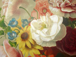 Floral Bouquet by Elisa-Honorine Champin
