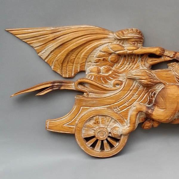 Roman Chariot Driver Plaque detail