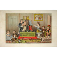 S.D. Sollers & Co. Children's Fine Shoes, advertising broadside