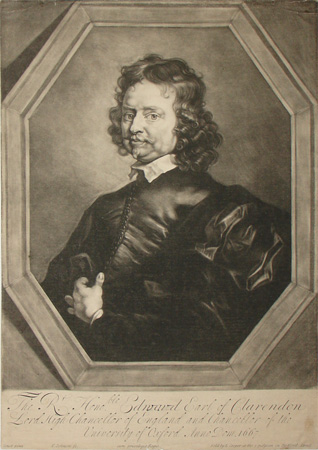 Portrait of Edward Hyde Clarendon