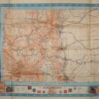 Pictorial Map, Colorado Railroad