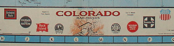 Detail of map title