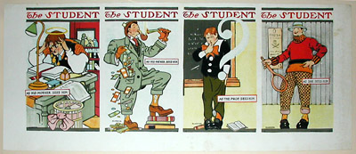 College Student Satirical Illustrations