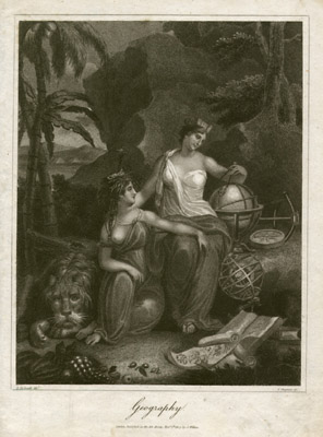 Allegorical Geography Print