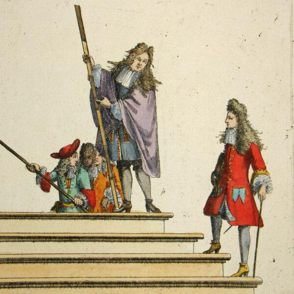 Fictus, Aloysi, Tibi Sistitur Orbis Ab Arte, Verus At Ante Pedes, Marte, Iubente, Cadet, detail