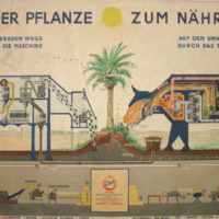 Austrian Vintage Scientific Advertising Poster