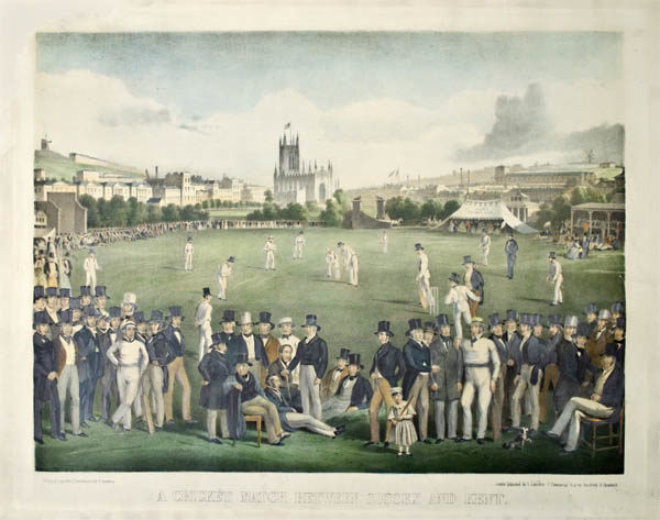 A Cricket Match Between Sussex and Kent