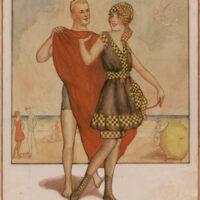 Critique 1915 Beach Couple