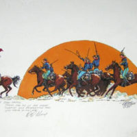 Custer Charge of the 7th Cavalry
