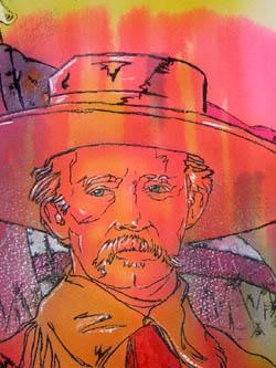 Portrait of George Custer