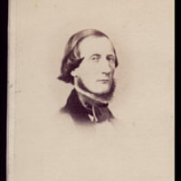 Carte-de-visite of Cyrus W. Field
