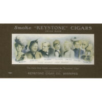 """The Whole Dam Family Recommend the """"Keystone"""" Cigar"""