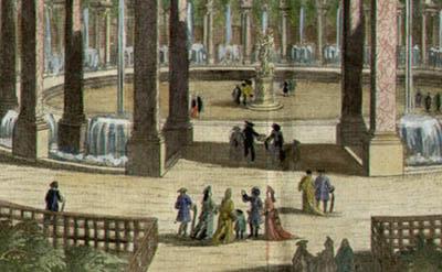 La Colonade de Versailles, detail