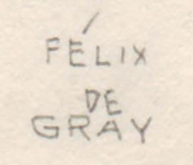 Costume Design, detail of signature