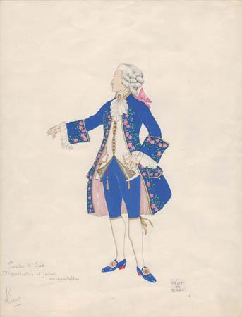 Costume Design, Lino, No. 19