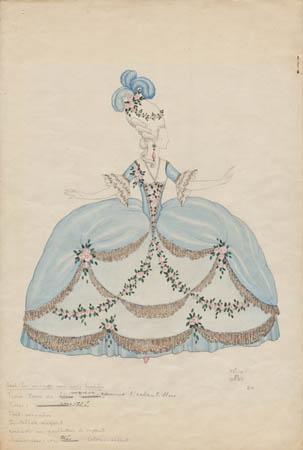 Costume Design, (Untitled), No. 24