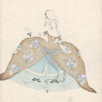 Costume Design, (Untitled), No. 24
