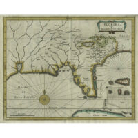 Florida, et Regiones Vincinae [Florida and Vicinity] from Beschrijvinghe van West-Indiën