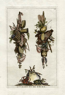 Decorative Fishing and Gardening Trophy Prints