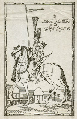 A Horse-Soldier of the Grand Signior