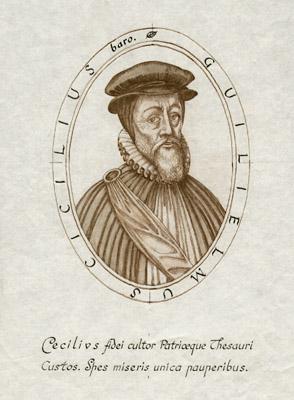 Guilielmus Cicilius baro [Sir William Cecil]