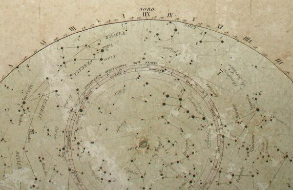 Planisphere, detail