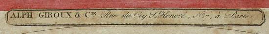 Alphonse Giroux label