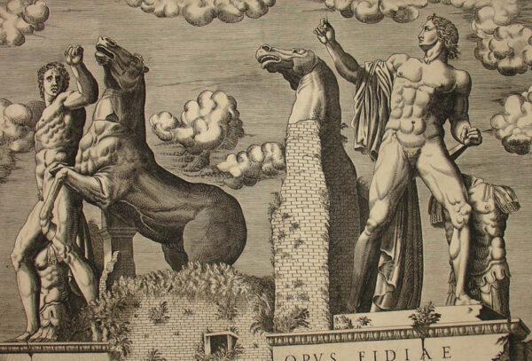 Dioscuri at the Quirinal, Rome