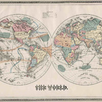 World Map, The World