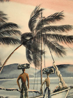 Bringin' Charcoal - St. Thomas Virgin Islands