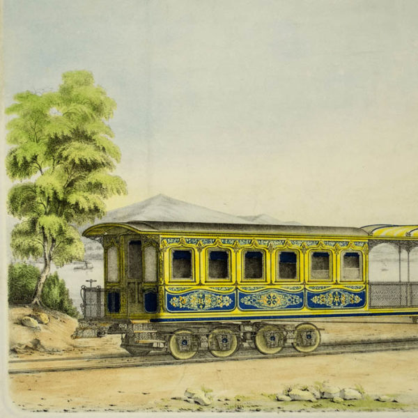 State Carriage For His Highness the Vice-Roy of Egypt, detail