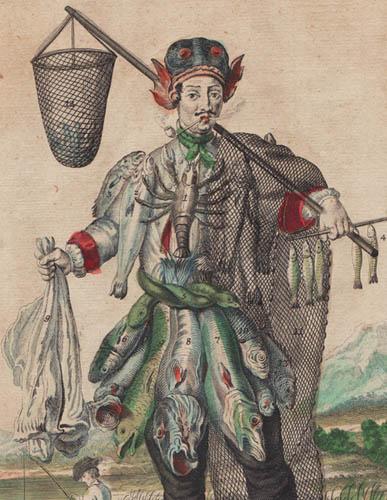 Detail of Un Pecheur/ Ein Fischer [A Fisher]