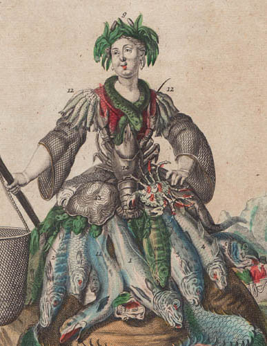 Detail of Feme d'Un Pecheur/ Eine Fischers Frau [A Fisher's Wife]