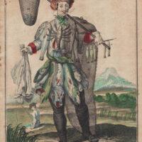 Un Pecheur/ Ein Fischer [A Fisher]