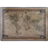 Phelps & Ensign Map of The World, On Mercators Projection
