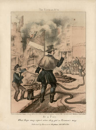 At a Fire: What Boys may expect when they get in Firemen's way (No. 4)