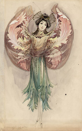 Fleurs, Moulin Rouge 1910 [Flowers, Moulin Rouge]