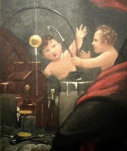 Benjamin Franklin Electricity Experiment