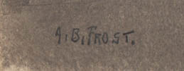 Signature on front