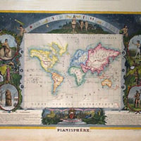 Planisphere [World Map]